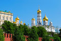 Golden cupolas Royalty Free Stock Photo