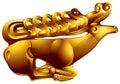 Golden deer Stock Photo