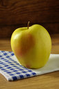 Golden delicious apple Royalty Free Stock Photography