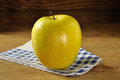 Golden delicious apple Royalty Free Stock Photos