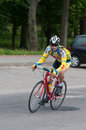Golden Dunes 2012 bicycle race, Klaipeda Stock Photography
