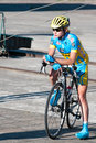 Golden Dunes 2012 bicycle race, Klaipeda Royalty Free Stock Photo
