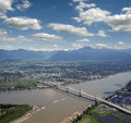 Golden Ears Bridge Royalty Free Stock Photos