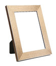 Golden empty picture frame Royalty Free Stock Photo
