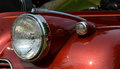 automobile headlight classic car Royalty Free Stock Photo