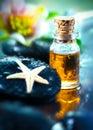Golden Essential Oil And Massa...