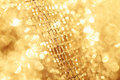 Golden fabric Royalty Free Stock Photography
