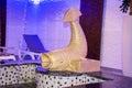 Golden Fish Fountain For Decor...