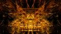 Golden Fractal Forms