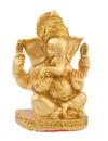 Golden Ganesh Royalty Free Stock Photo