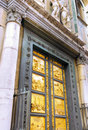 Golden gate bazylika di santa croce florencja Fotografia Stock
