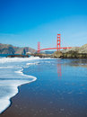 The Golden Gate Bridge Stock Images