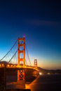 Golden gate bridge Photo libre de droits