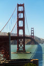 Golden gate bridge Obrazy Royalty Free