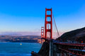 Golden gate bridge Obraz Royalty Free