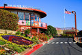 Golden Gate Bridge Round House Visitor Center Royalty Free Stock Photo