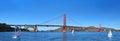 Golden Gate Bridge, San Francisco, California USA Royalty Free Stock Photo