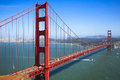 Golden gate bridge san francisco the usa Stock Image