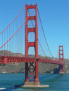 Golden Gate at San Francisco California USA Stock Photography