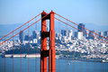 Golden Gate Skyline Royalty Free Stock Image