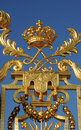 Golden gate of Versailles palace Royalty Free Stock Photography