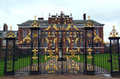 Golden Gates Royalty Free Stock Photo