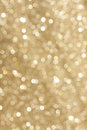 Golden glitter blur background from wrapping paper wiith blurry Stock Image