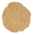 Golden glitter over white background Royalty Free Stock Image