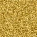 Golden glitter texture seamless pattern in gold style. Vector design.