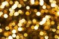 Zlatý řeřavý světlo