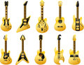 Golden guitars