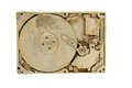 Golden harddrive Stock Images