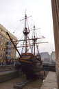 The Golden Hinde II Royalty Free Stock Photo