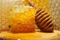 Golden honey Royalty Free Stock Photo