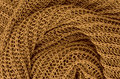 Golden knitted pullover background Royalty Free Stock Photo