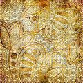 Golden lace Royalty Free Stock Photos