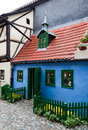 Golden Lane little house, Prague Royalty Free Stock Image