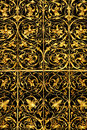 Golden lattice Royalty Free Stock Photo