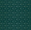 Golden lines pattern. Vector geometric linear seamless texture. Luxury design