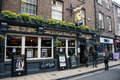 The golden Lion York pub town Yorkshire Royalty Free Stock Photo