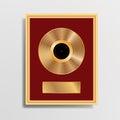 Golden LP black