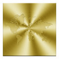 Golden map Royalty Free Stock Photo
