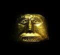 Golden mask Royalty Free Stock Photo