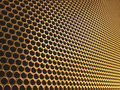 Golden Mesh Stock Photography