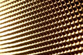 Golden metal grid Stock Photos