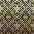 Golden metallic background with seamless pattern Royalty Free Stock Photo