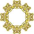 Golden Mirror Baroque Frame
