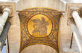 Golden mosaic, the cathedral of San Marco, Venice. Royalty Free Stock Photo