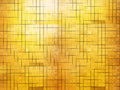 Golden mosaic wall gold background Royalty Free Stock Photos
