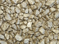 Golden nuggets close up background and texture of stones Stock Images